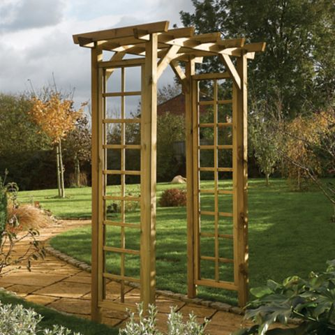 Wooden Arch - Assembly Required