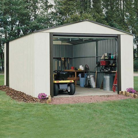 Murryhill 12X24 Metal Garage - Assembly Required