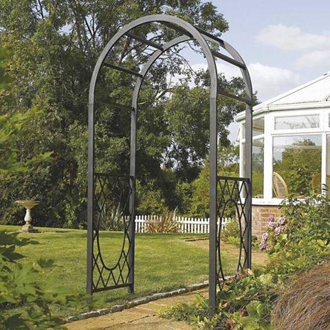 Wrenbury Metal Arch - Assembly Required