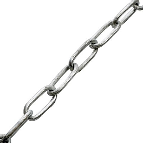 5014267032136 835573 ENDWELDED CHAIN GALVANIZED 5MM