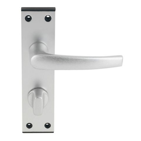 Smith & Locke Satin WC Door Handle