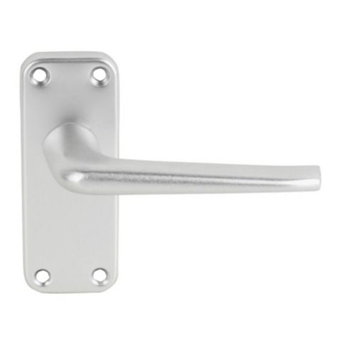 Smith & Locke Satin Latch Door Handle