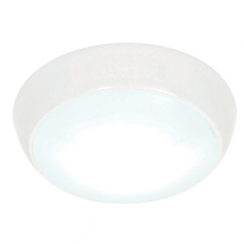 Amazon White Frosted Bathroom Ceiling Light