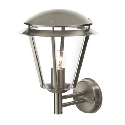 Brushed Stainless Steel Wall Light