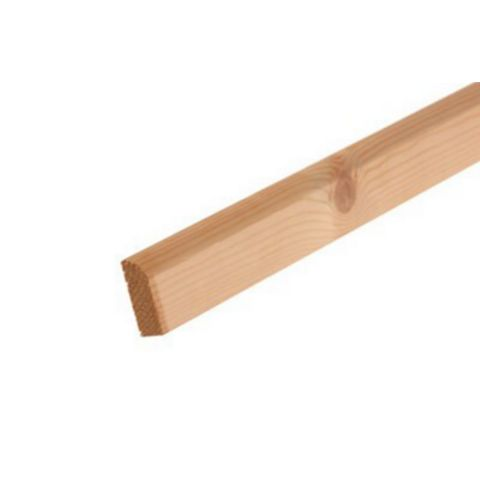 Metsä Wood Rounded Architrave (L)2100mm (W)44mm
