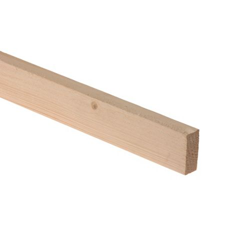 Rough Sawn Timber (T)19mm (W)38mm (L)2400mm