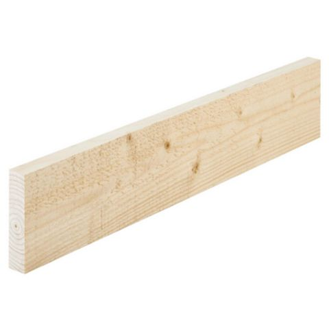 Softwood Rough Sawn Timber (T)22mm (W)100mm (L)1800mmpack Quantity 5