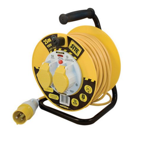 Masterplug 25m Cable Reel