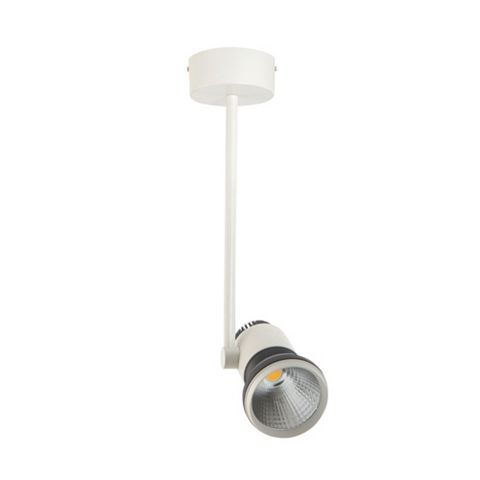 Luceco White Adjustable Drop Rod LED Downlight 17.3 W