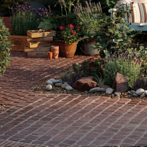 Bradstone Rustic Red Paving Kit, 400 x 600 x 40mm