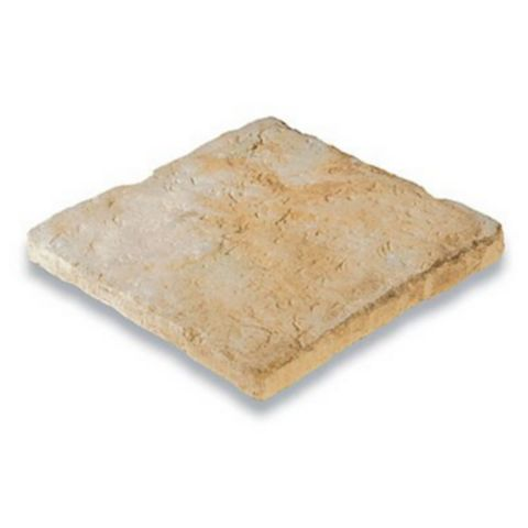 Bradstone Old Town Riven Weathered Limestone Paving Kit, 300 x 300mm 4.6m², Pack of 48