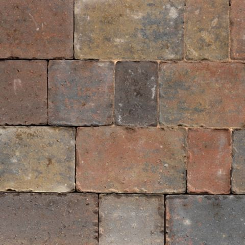 Royale Monksbridge Mixed Size Block Paving, Pack of 360, 9.60 m²