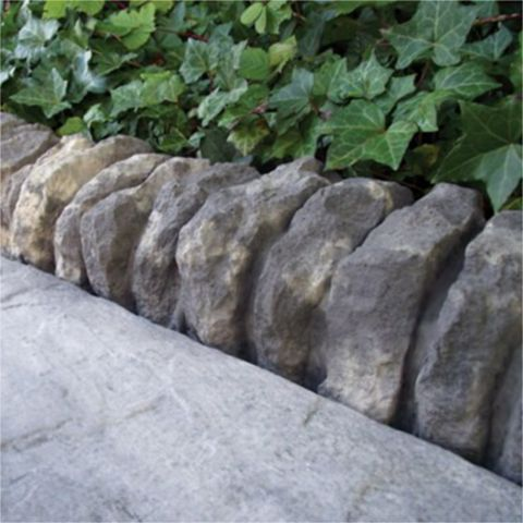 Traditional Ancestry Paving Edging Abbey Storm, (L)510mm (H)160mm (T)125mm, Pack of 30