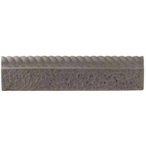 Rope Top Paving Edging Old Granite, (L)600mm (H)150mm (T)50mm, Pack of 38