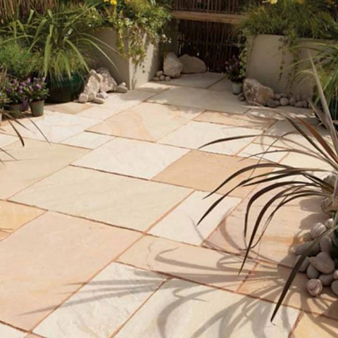 Bradstone Traditional Natural Sandstone Paving Slab, 16.1 m²