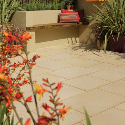 Bradstone Traditional Reconstituted Stone Patio Pack, 12.96 m²