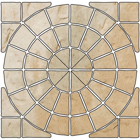 Bradstone Old Town 2.8m Circular Patio Kit