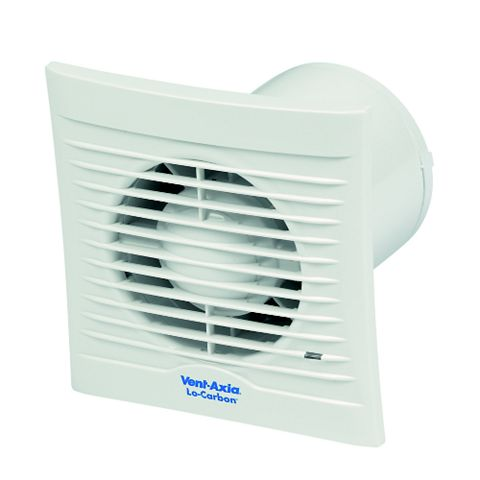 Vent-Axia Silhouette 100T Lo-Carbon Extractor Fan with Timer