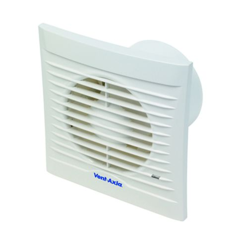 Vent-Axia Silhouette 100T Bathroom Extractor Fan with Timer 100 mm