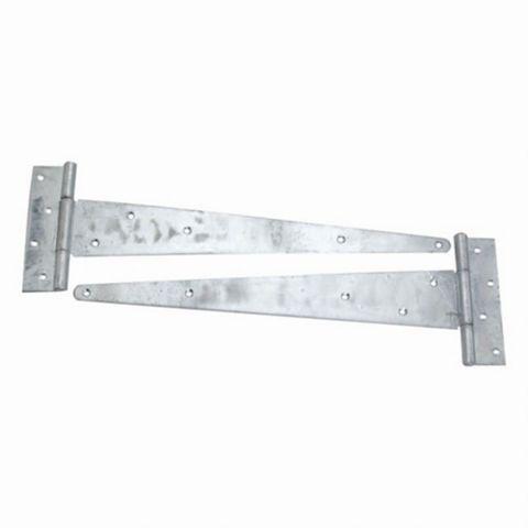 Heavy Duty Galvanised Heavy Duty Scotch Tee Hinge (L)500mm, Pack of 2