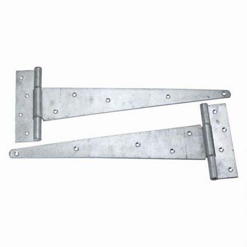 Heavy Duty Galvanised Scotch Tee Hinge (L)400mm, Pack of 2