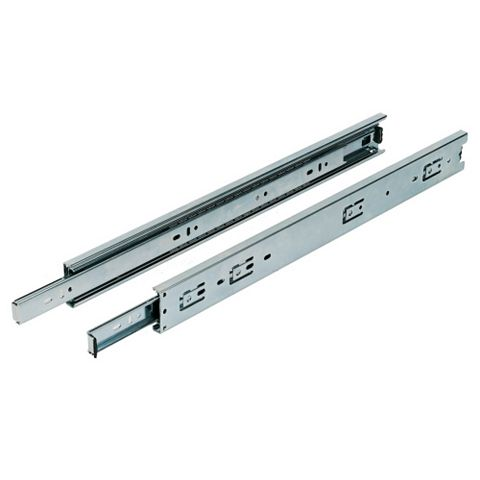 Ball Bearing Drawer Runner (L)500 mm, Pack of 2