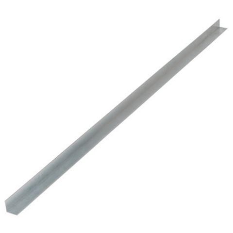 Aluminium Edging Strip (L)2438mm (W)19mm