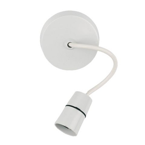 Crabtree White Thermoplastic Pendant Set (L)150mm