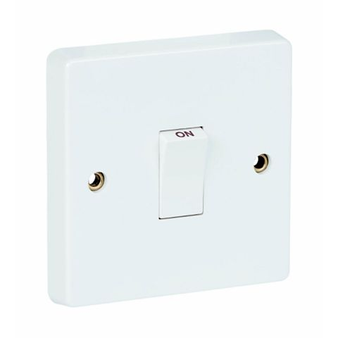 Crabtree 1-Gang 20A White Switch