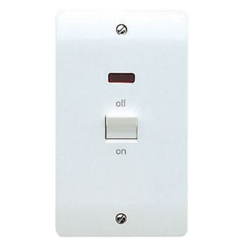 MK 1-Gang 45A Cooker Switch