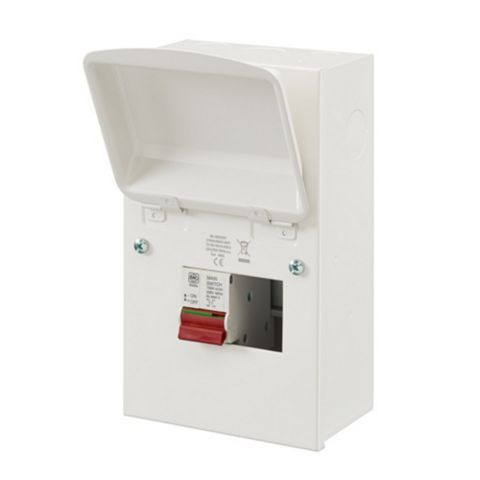 MK Sentry Metal Main Switch Consumer Unit