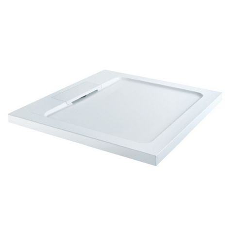 Square Shower Tray with Hidden Waste
