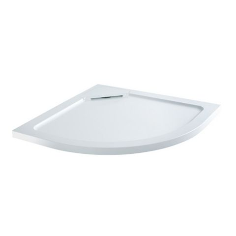 Flair Quadrant Shower Tray with Hidden Waste