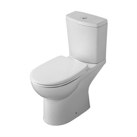 Ideal Standard Vue Modern Close-Coupled Toilet with Soft Close Seat
