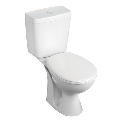 Armitage Shanks Sandringham 21 Close-Coupled Toilet Pack with Standard Close Seat