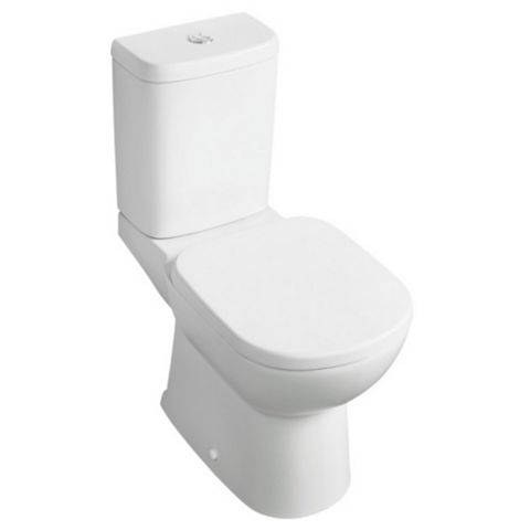 Ideal Standard Kyomi Contemporary Close-Coupled Toilet with Soft Close Seat