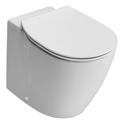 Ideal Standard Imagine Aquablade Contemporary Back to Wall Toilet with Soft Close Seat