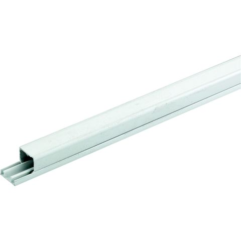 Tower White Mini Trunking, 16mm x 3m