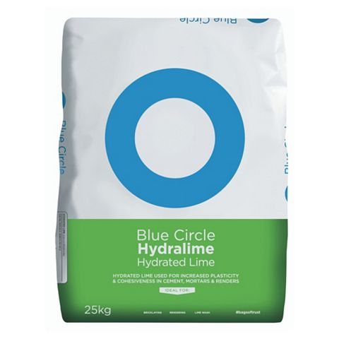 Blue Circle Hydrated Lime White 25 kg Bag