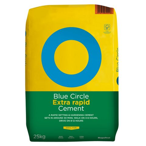 Blue Circle Extra Rapid Cement 25 kg Bag