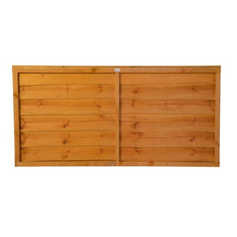 Traditional Overlap Fence Panel (W)1.83m (H)900mm