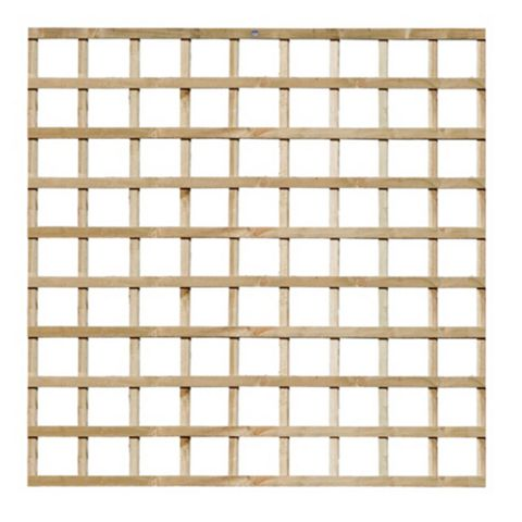 Grange Traditional 1.83 M x 1.83 M Trellis Panel, Softwood