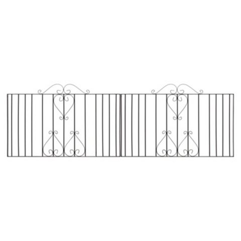 Metpost Metal Scroll Top Gate (H)950mm (W)1125mm