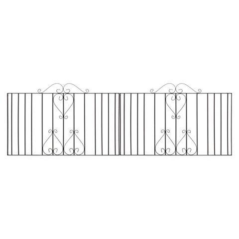 Metpost Metal Scroll Top Gate (H)950mm (W)1275mm