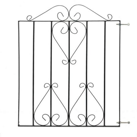 Metpost Metal Scroll Top Gate (H)970mm (W)830mm