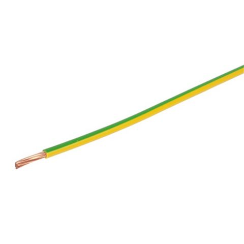 Prysmian 16mm² Earth Cable, Green & Yellow 100m