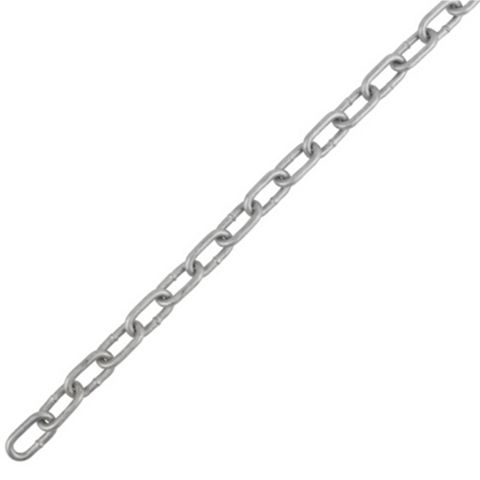 Heavy Duty Welded Steel Chain 6mm x 2m