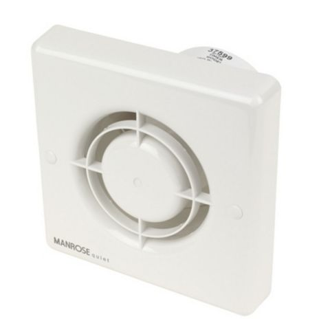 Manrose Bathroom Extractor Fan with Timer