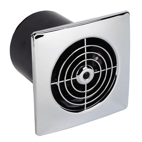 Manrose Flush Extractor Fan with Timer 100 mm