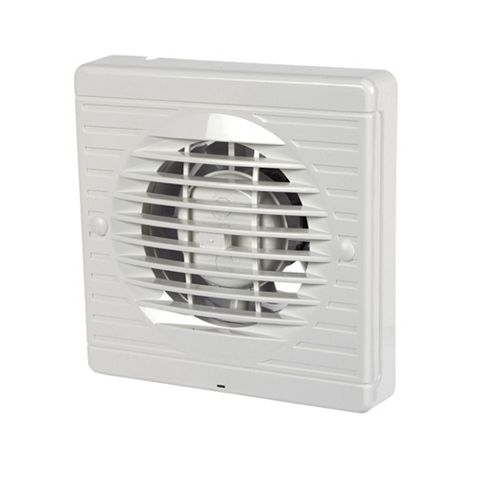 Manrose Xf100P Bathroom Extractor Fan with Pullcord 100 mm